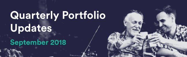 Quarterly Portfolio Updates - September 2018